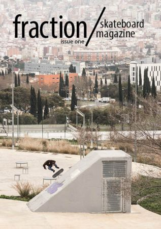 Printed on the cover of Fraction Magazine Issue 1