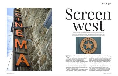 Printed in Manor Magazine